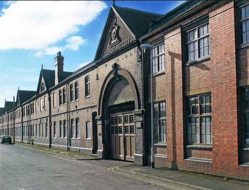 middleport pottery facade