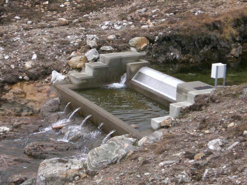 Micro hydro in North Harris