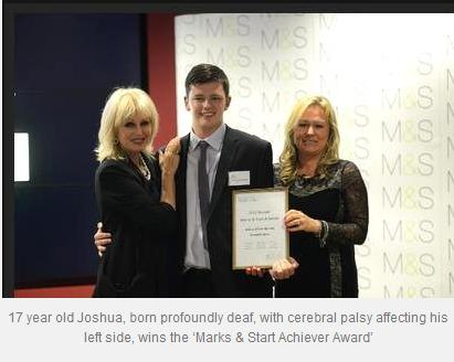 M&S achiever award