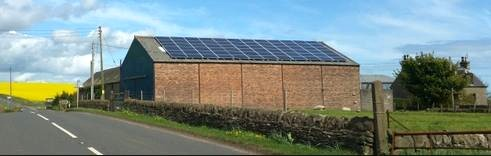 milton haugh farm solar panels