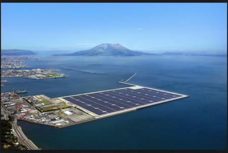 Japan Floating Solar Islands Antidote To Gloom