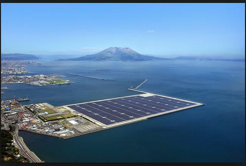 Kagoshima solar power plant