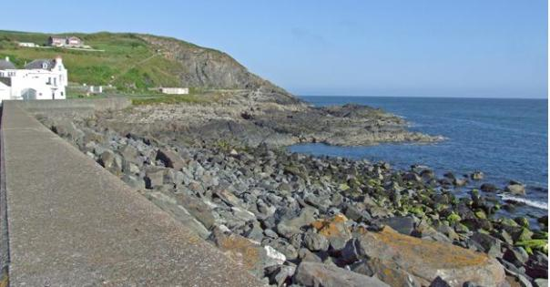 portpatrick sea wall
