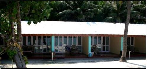 Tourist cottages, white coral beaches