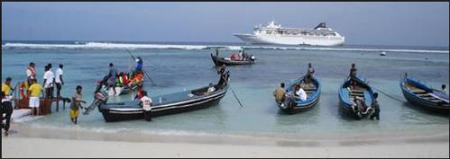 lakshadweep tourist ship