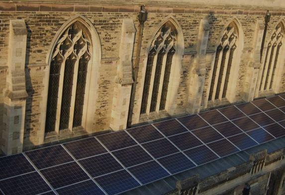 church-solar